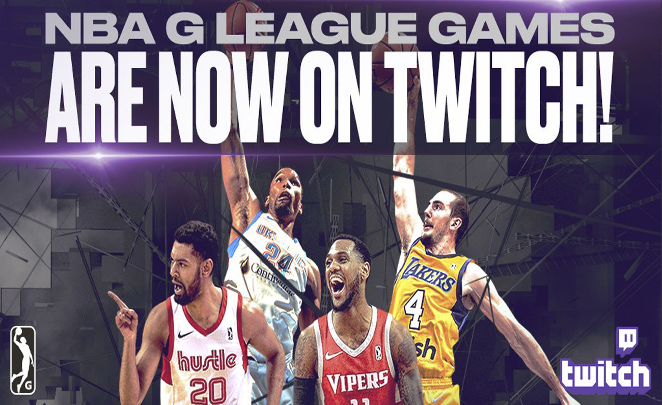 NBA G League Twitch Esports