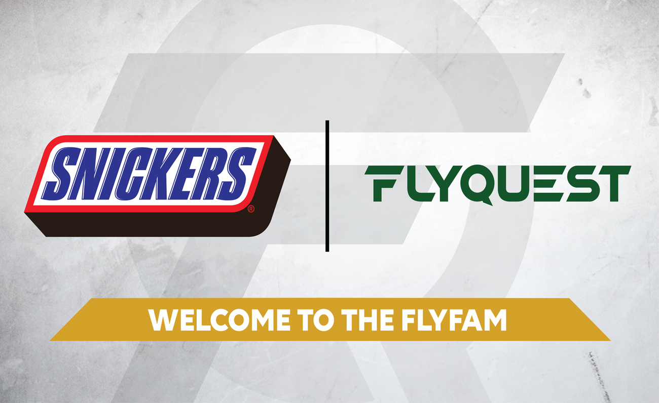 Snickers Flyquest esports