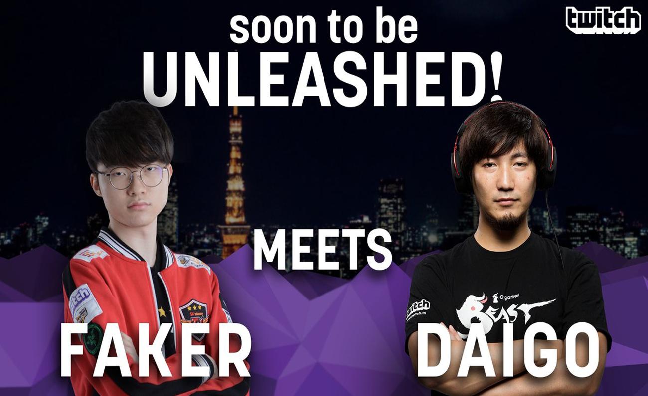 Twitch Faker Daigo esports
