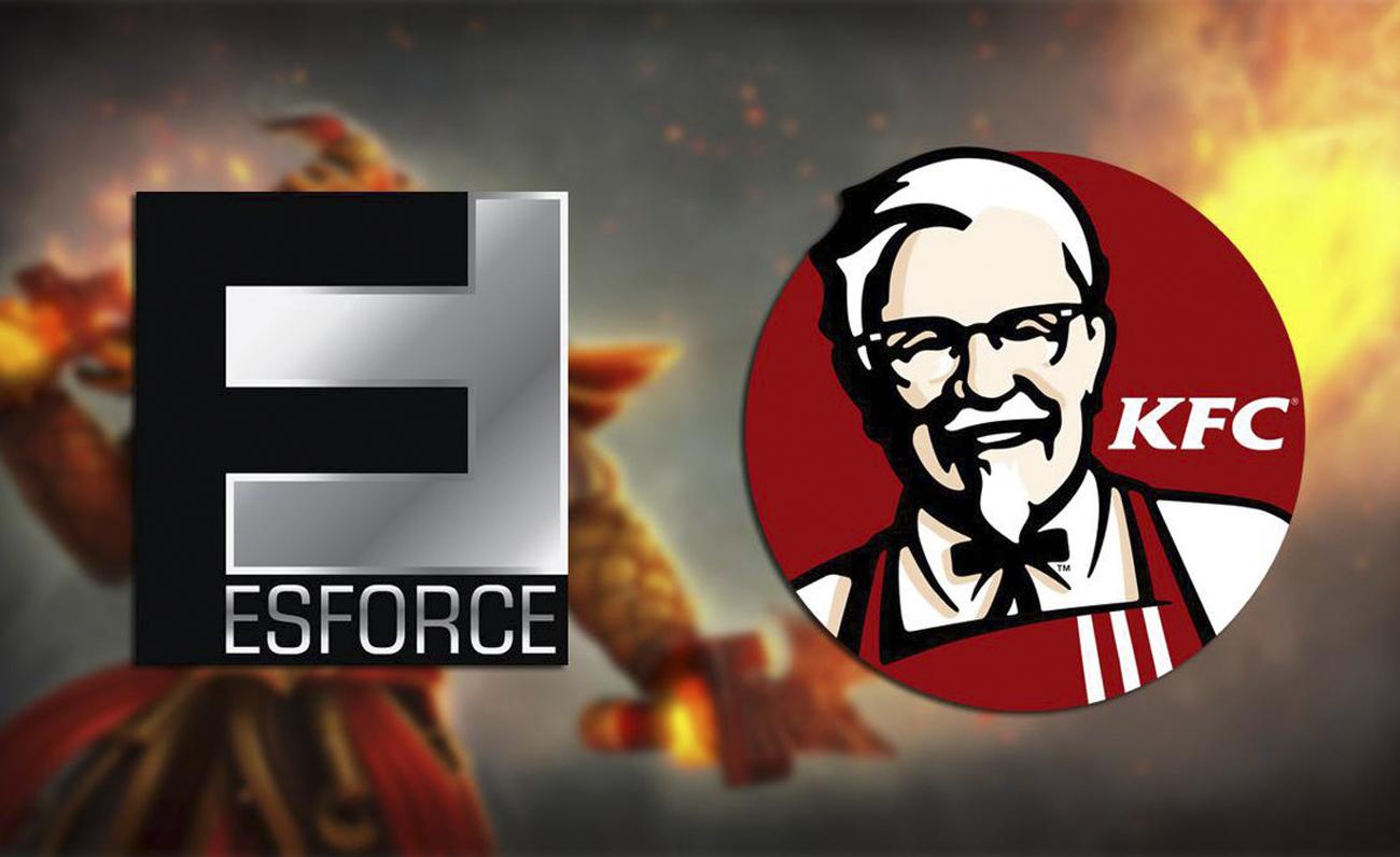 KFC ESforce esports