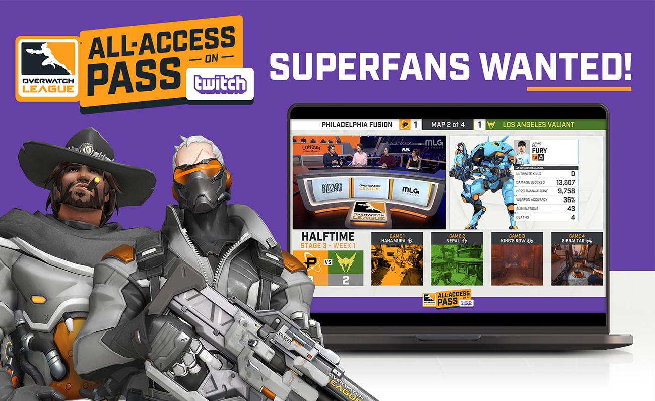 All Access Pass Overwatch League