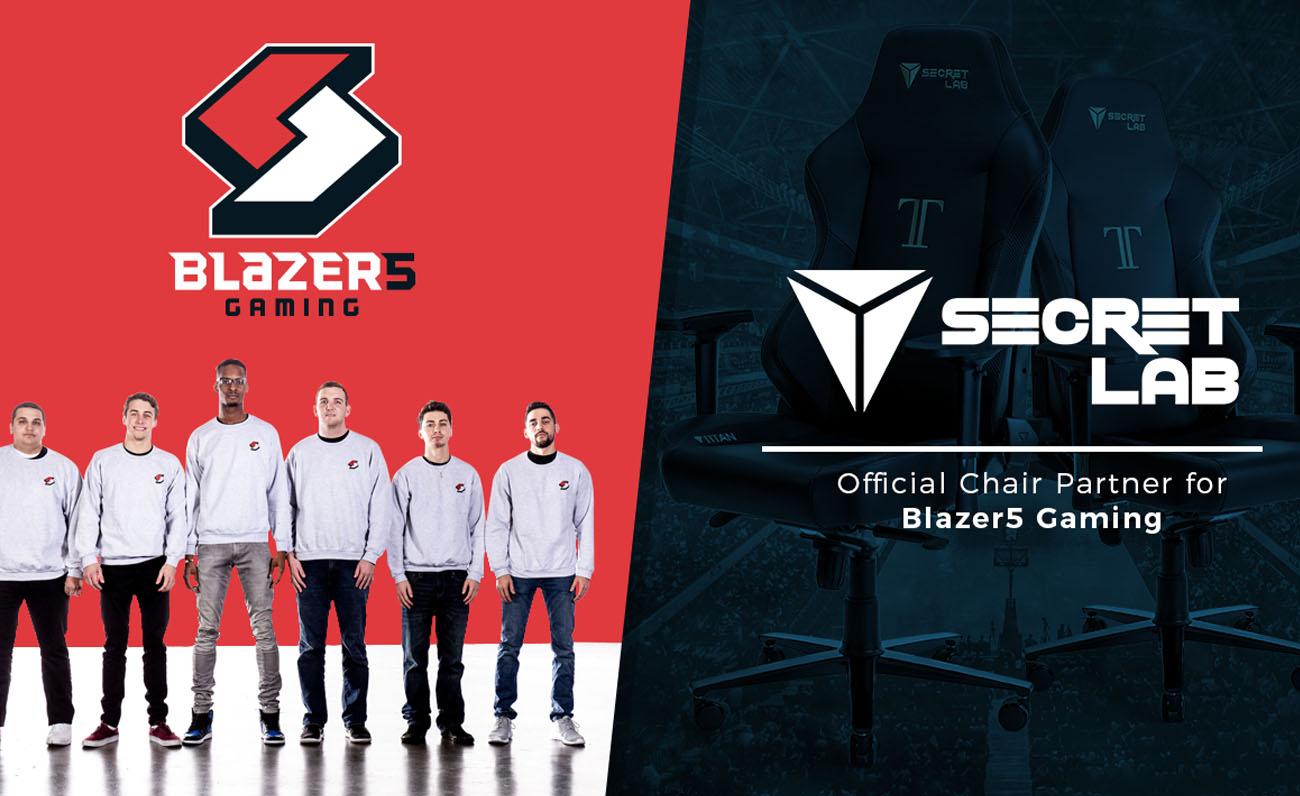 Blazer5 Secret Lab esports