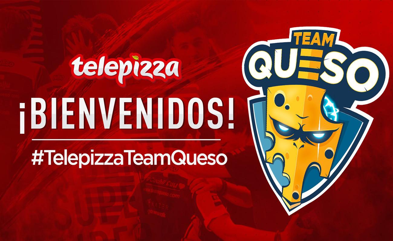 Telepizza vuelve por la puerta grande a los esports de la mano de Team Queso