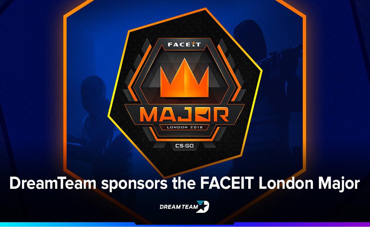 DreamTeam FACEIT London Major esports