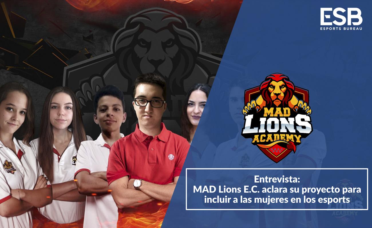 Entrevista MAD Lions