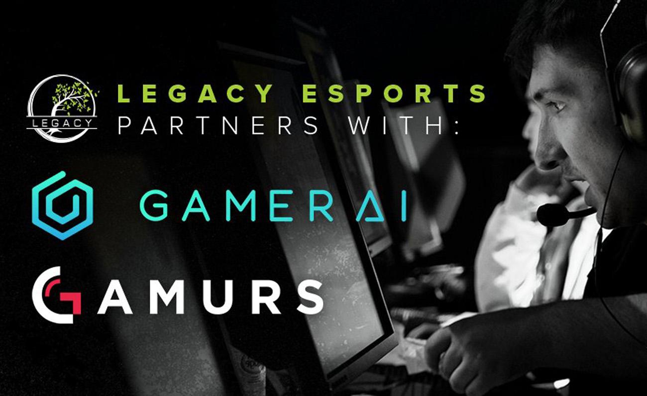 Gamurs, matriz de Dot Esports, se alía con Legacy Esports para probar su nuevo software, Gamer AI