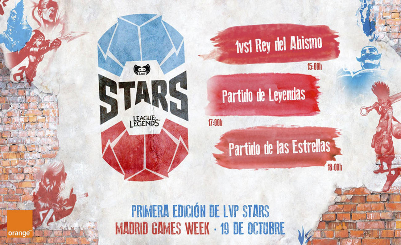 La LVP completa su oferta para Madrid Games Week con el anuncio del All Star de League of Legends
