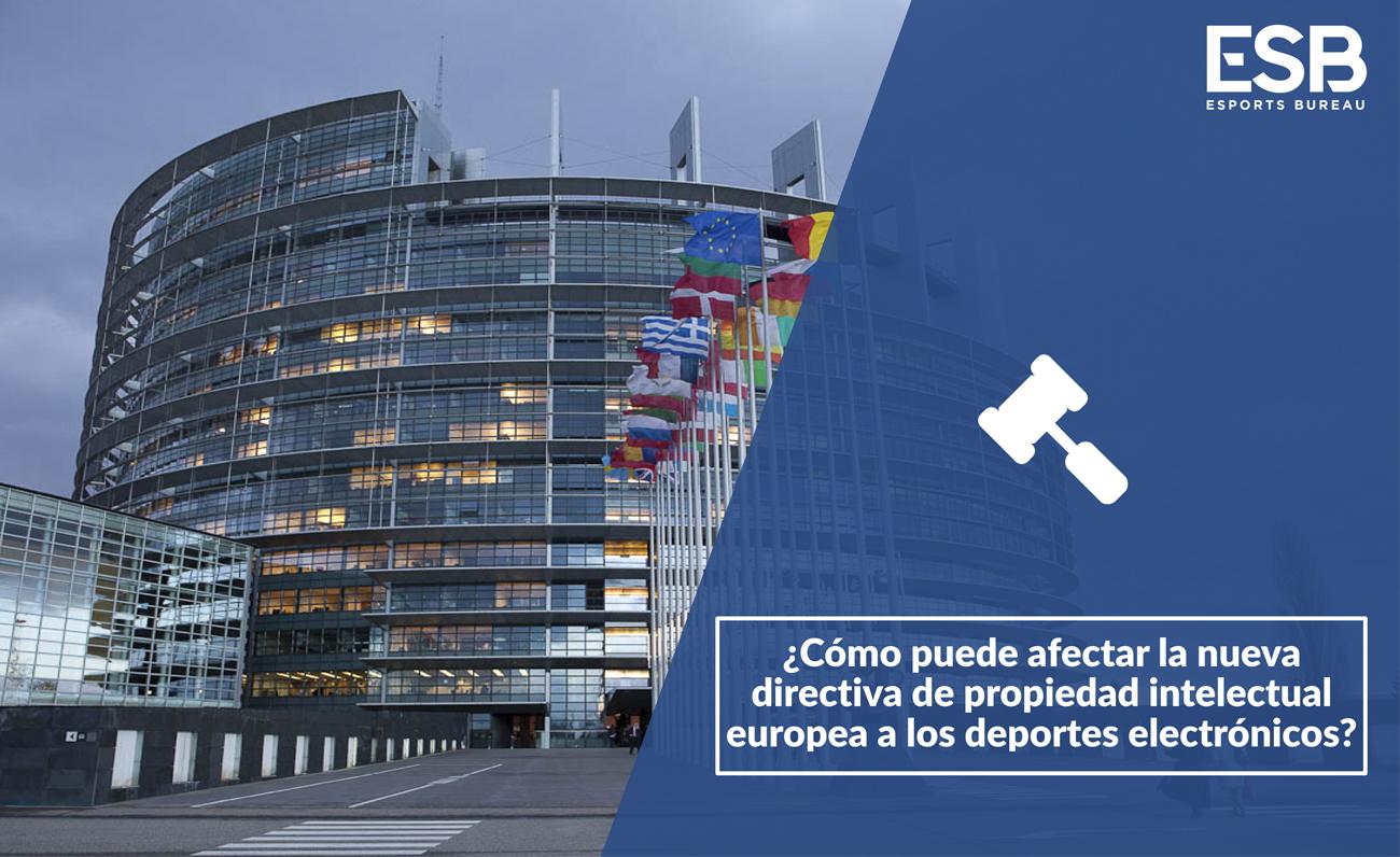 Ley Propiedad Intelectual Europa Esports