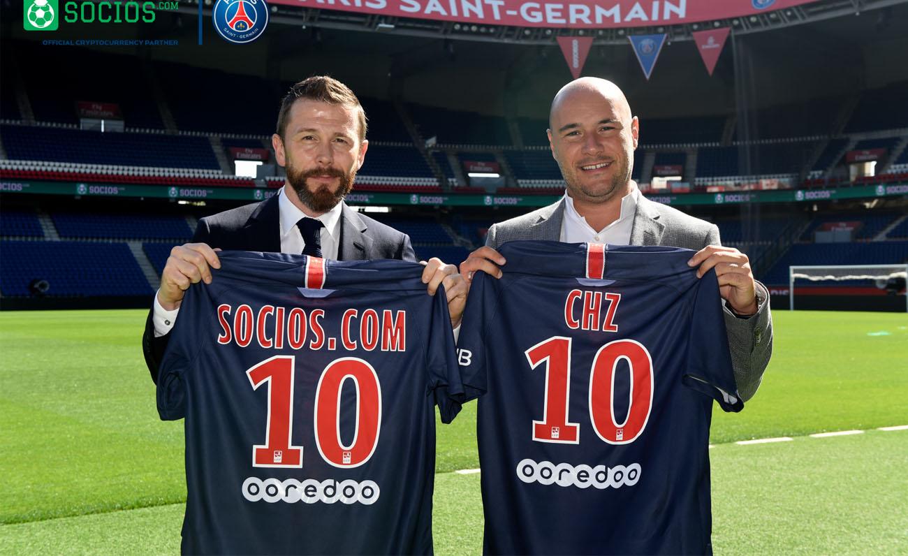 El Paris Saint-Germain, primer club de fútbol en usar blockchain gracias a su acuerdo con Socios.com