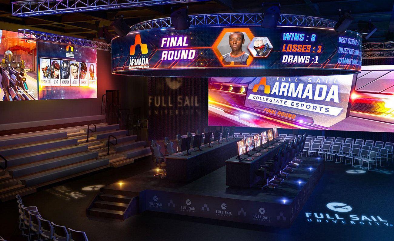 Full Sail The Fortress esports