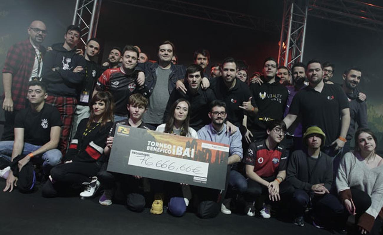 El torneo benéfico organizado por Ibai recauda 80 mil euros para el SJD Pediatric Cancer Center Barcelona