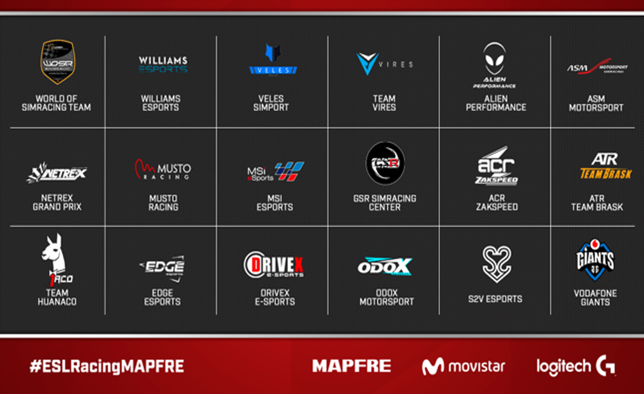ESL RAcing Series MAPFRE