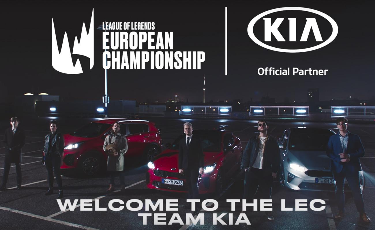KIA patrocinará la LEC en 2019 además de ciertos programas. Presentación del equipo de casters