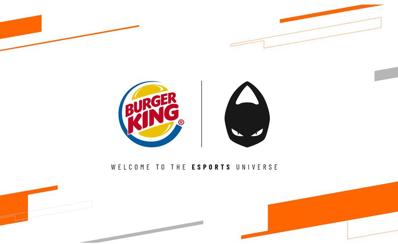 Burger King® España da el salto a los esports de la mano de x6tence como Main Sponsor
