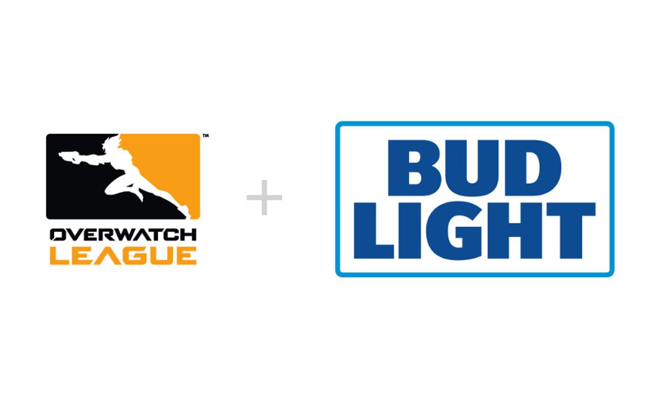 Patrocinios dobles en ligas franquiciadas; OWL firma con Bud Light y NBA 2K League con Stance