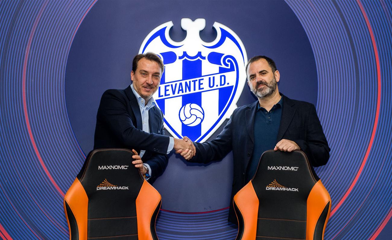 Acuerdo entre DreamHack y Levante U.D. para su participación en la edición de Valencia