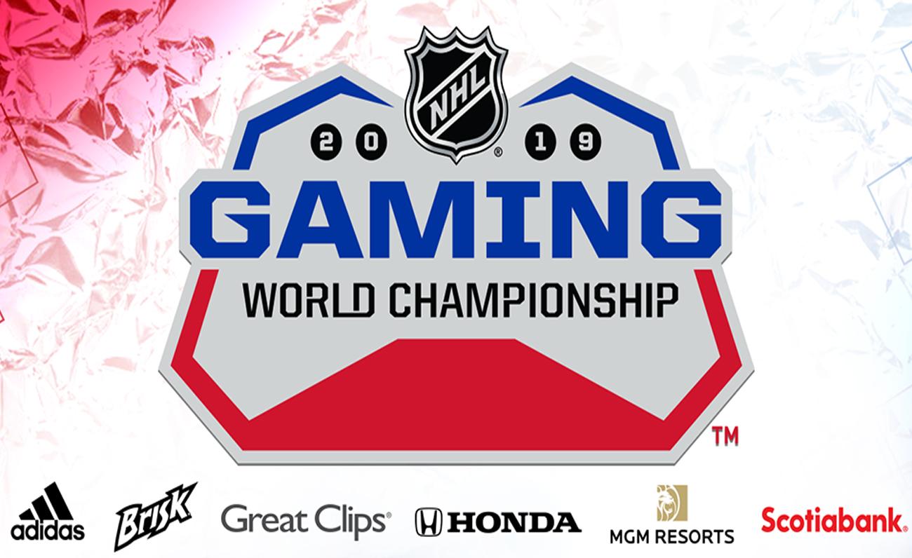 La NHL anuncia varios patrocinadores para los NHL Gaming World Championships de 2019