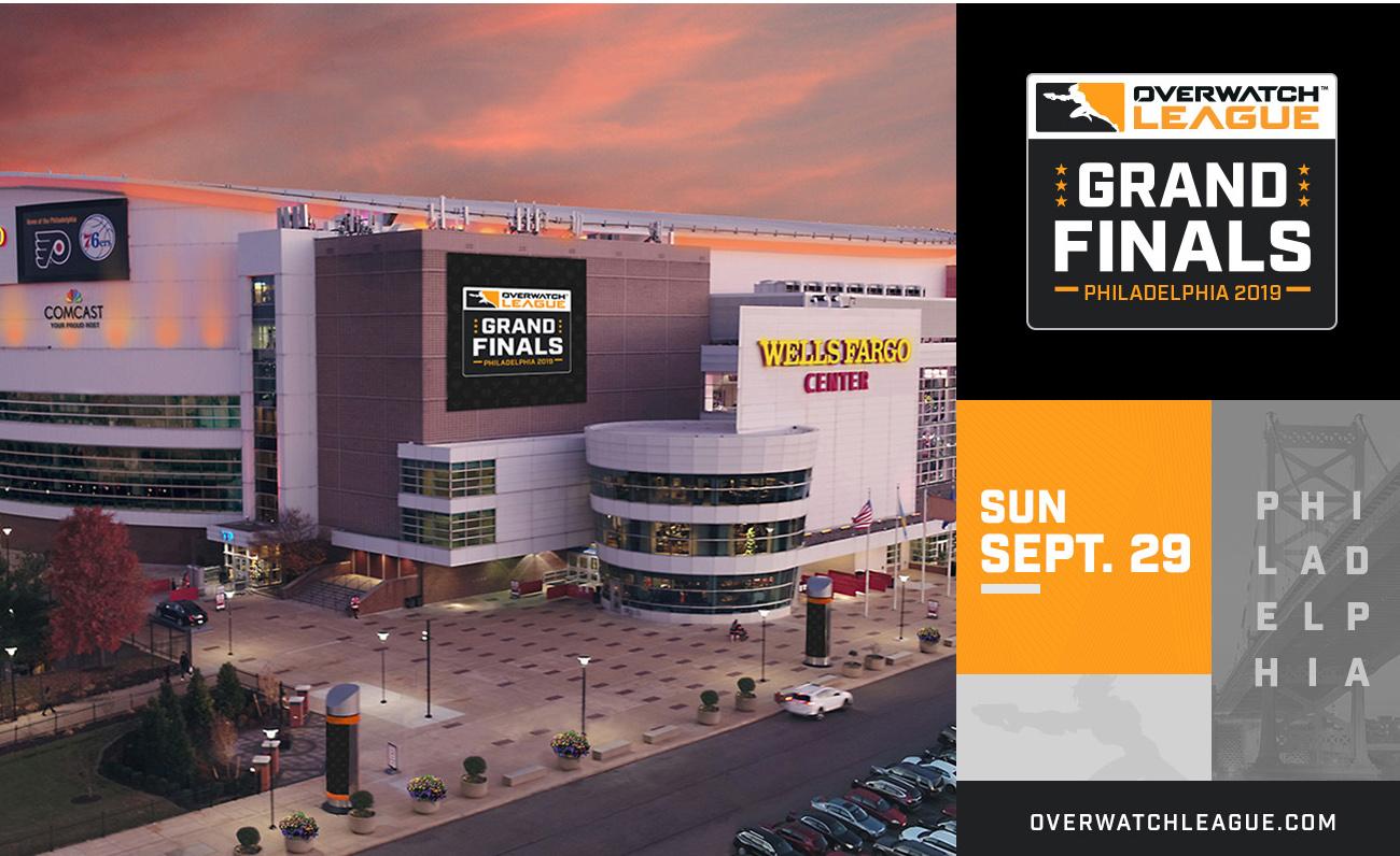 El Wells Fargo Center de Philadelphia acogerá Las Finales de la segunda temporada de OWL