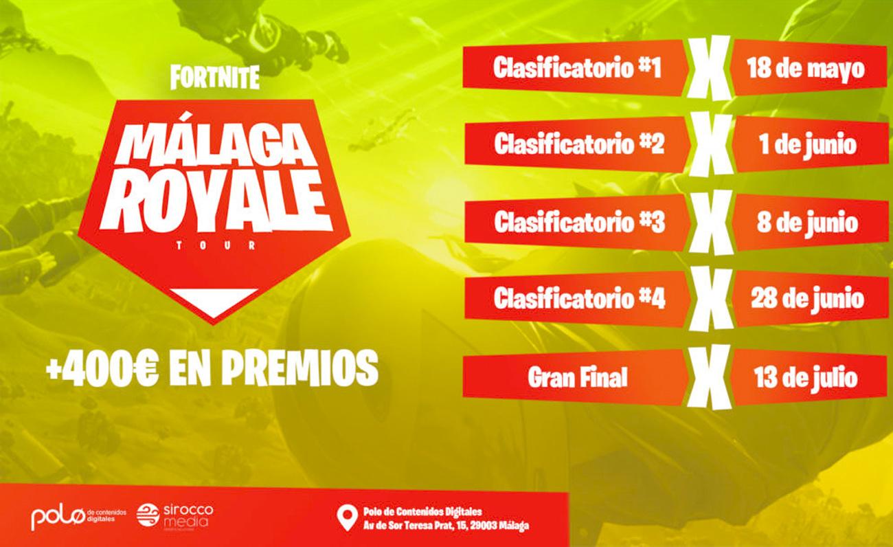 """Finaliza """"Málaga Royale"""", un éxito involucrando a progenitores en el interés de sus hijos por Fortnite"""