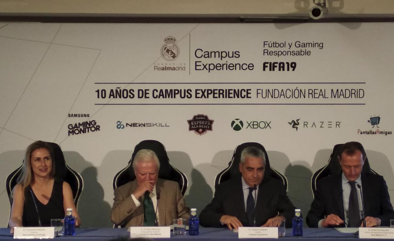 Campus Experience de la Fundación Real Madrid contará en su 10ª edición con deportes electrónicos