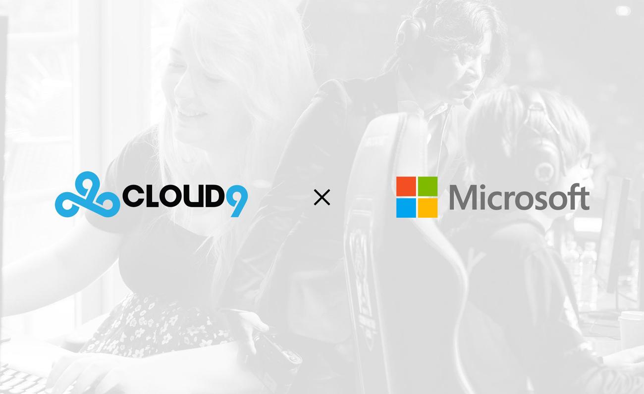 Cloud9 y Microsoft se alían con el objetivo de desarrollar nuevas herramientas tecnológicas en esports