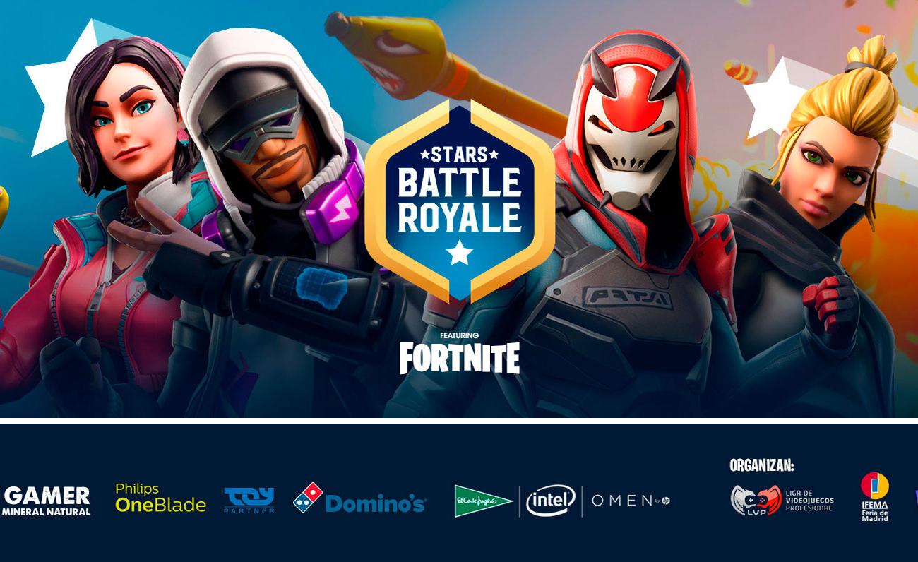 Volveremos a tener a 100 Youtubers compitiendo en Fortnite en Gamergy: anunciado Stars Battle Royale