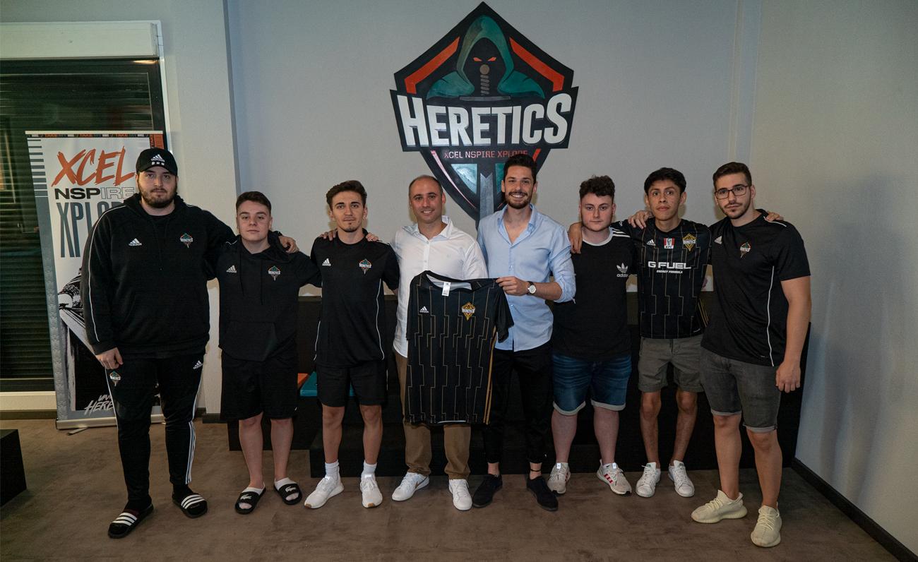 Team Heretics presenta en su gaming house a BeSoccer como nuevo patrocinador y partner tecnológico