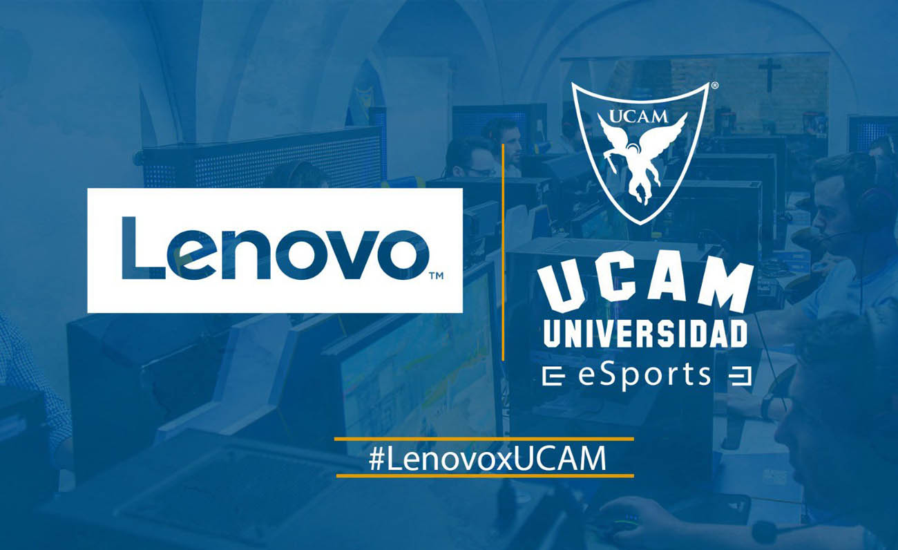UCAM y Lenovo firman un acuerdo de patrocinio para impulsar la formación en los esports