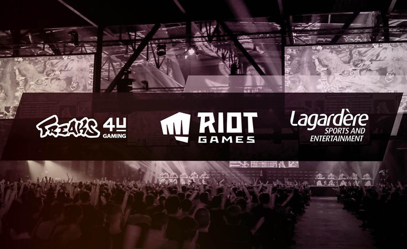 Riot Games, Freaks 4U, Lagardere