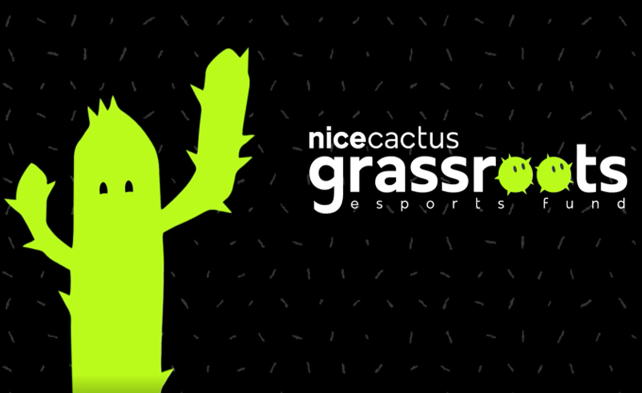 Nicecactus Grassroots Esports Fund