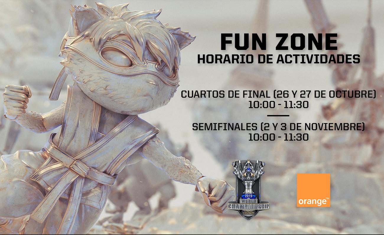 Riot Games Activaciones Worlds Madrid