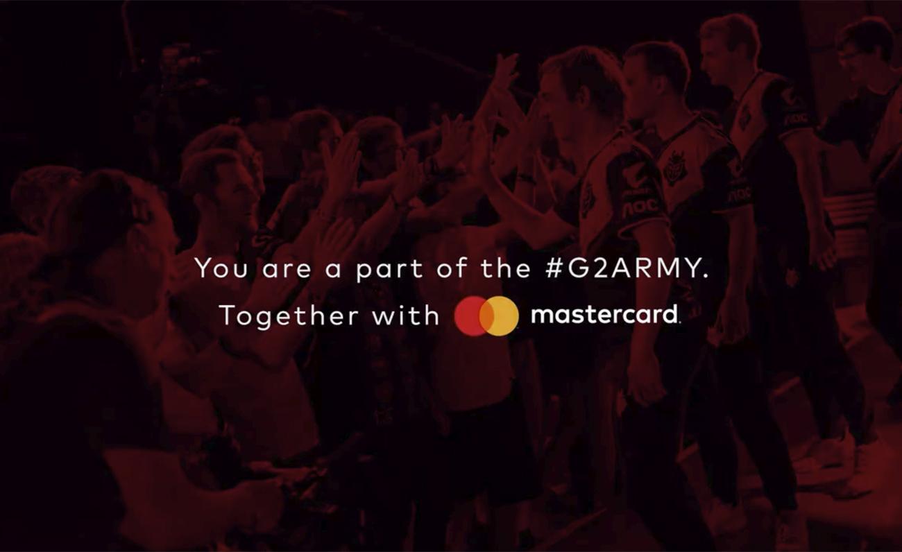 G2 Esports Mastercard