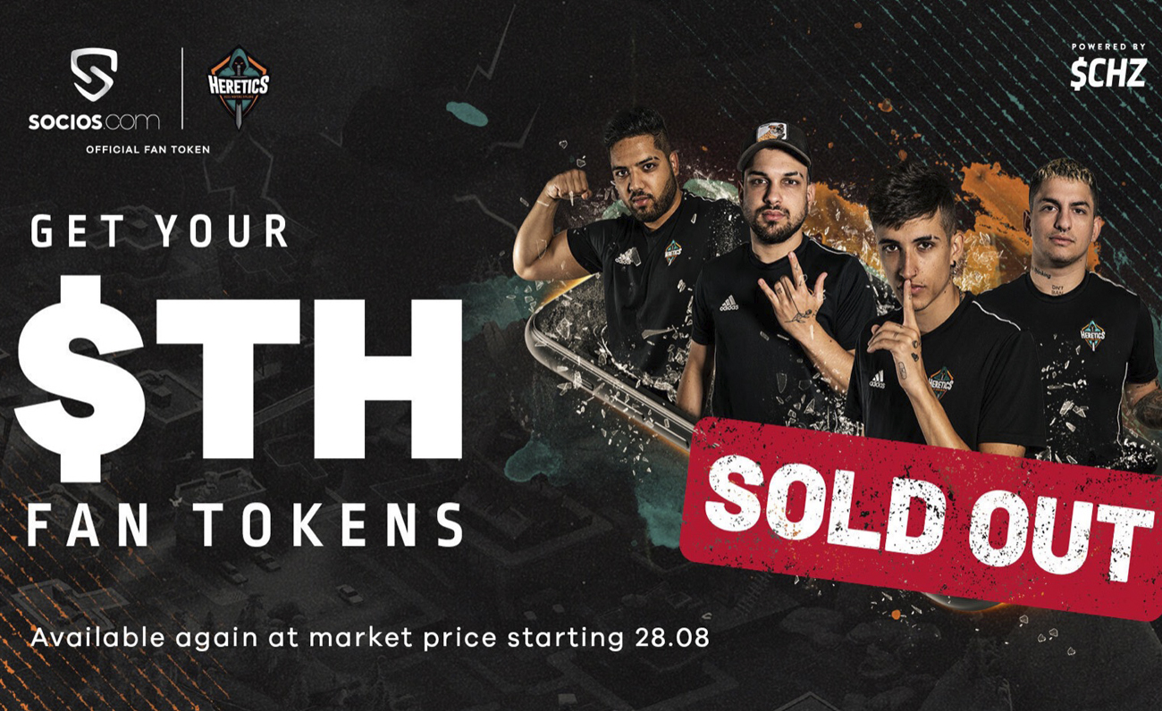 Heretics Fan Token SoldOut