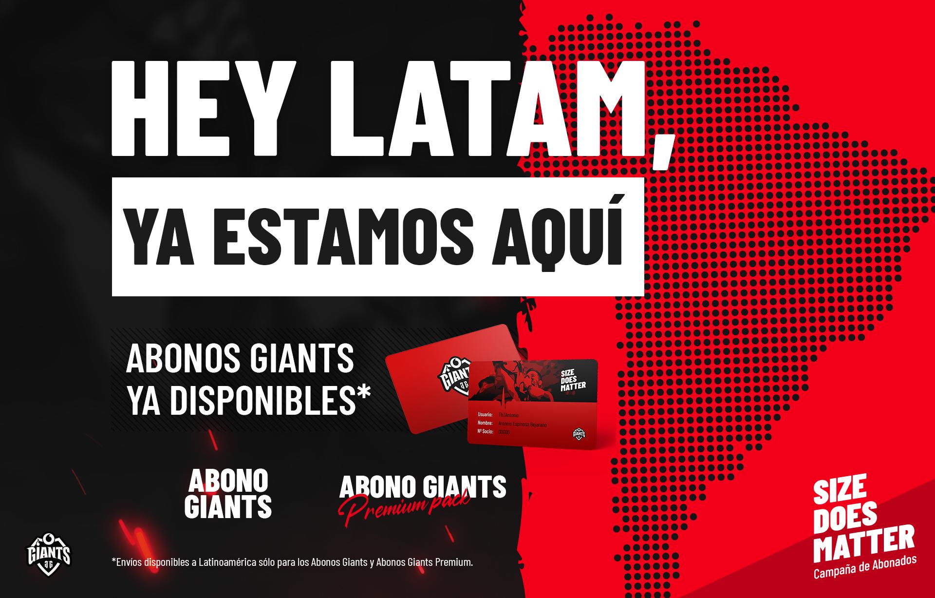 Giants Abono latam