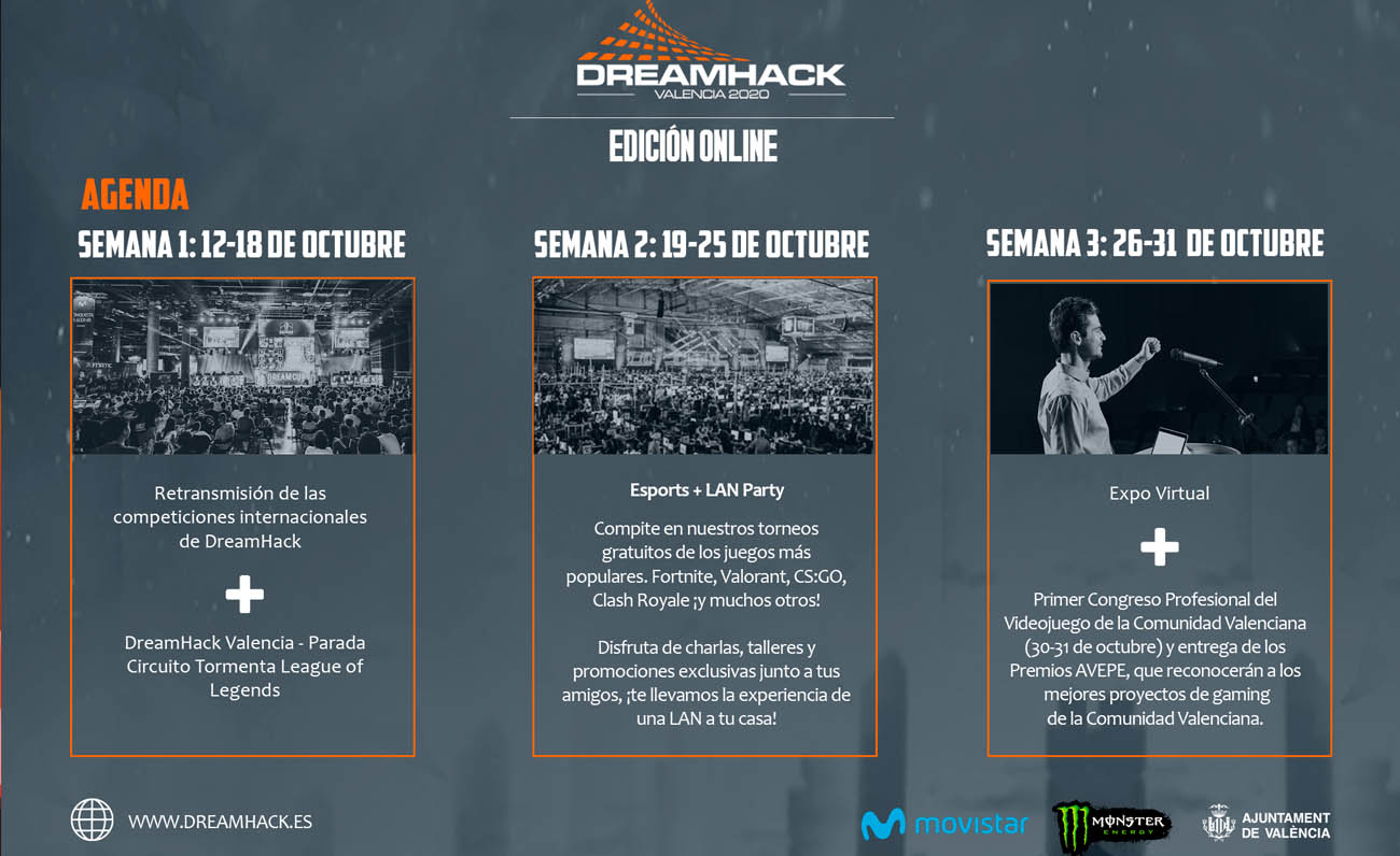 DreamHack Valencia Online